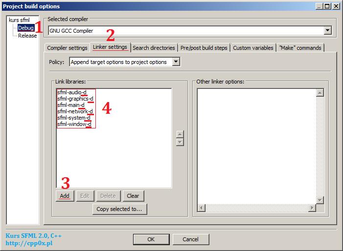 T-9846 » [Irrlicht] Instalacja biblioteki pod Code::Blocks w Ubuntu